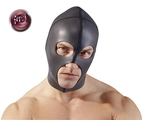"Fetish Collection ""Hood Smooth"", mask"
