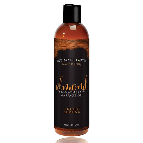 INTIMATE EARTH - ALMOND MASSAGE OIL, mandli massaažiõli, 240ml
